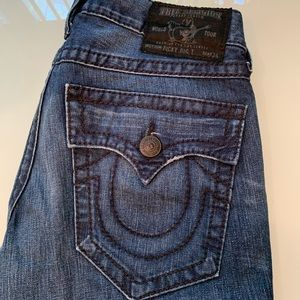 True Religion jeans 32 RICKY BIG T made in USA